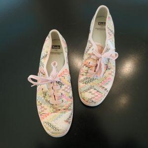Women Keds sneakers summer pinks size 9